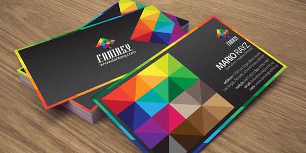 روانشناسی رنگ کارت ویزیت بخش دوم