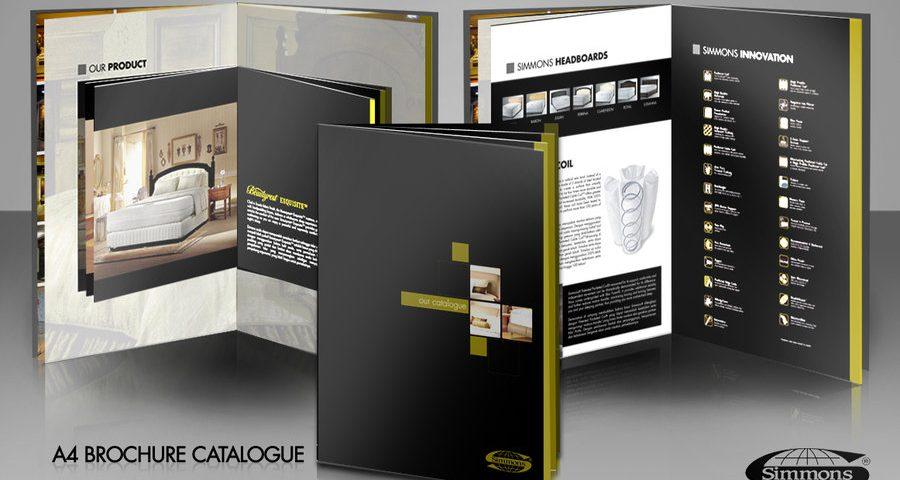 تفاوت طراحی بروشور و طراحی کاتالوگ
