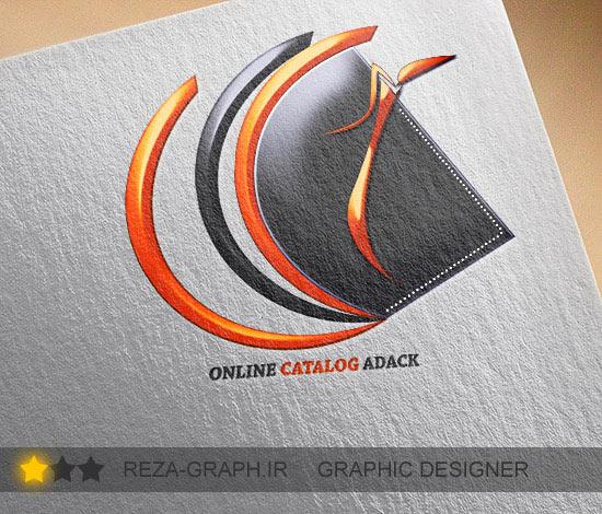 طراحی لوگو کاتالوگ