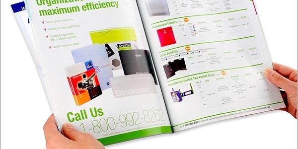 طراحی کاتالوگ با تحقیق بازار