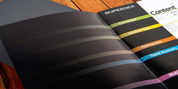 لایه بندی ها در طراحی بروشور سه لت